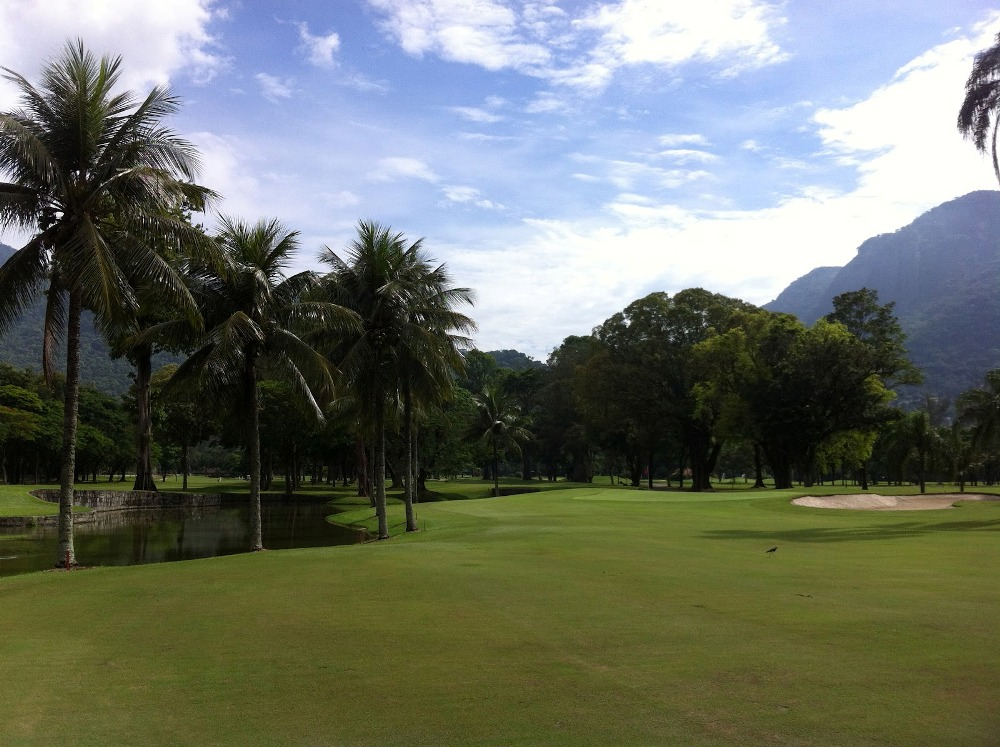 Hole at Itanhanga golf course