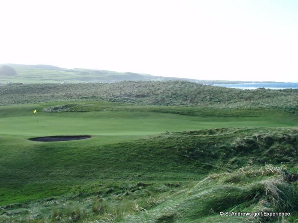 Machrihanish's green rough
