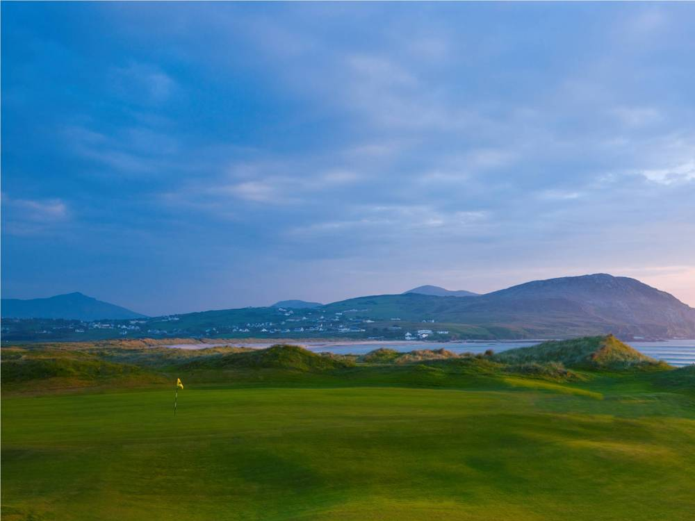 Green and see at Ballyliffin
