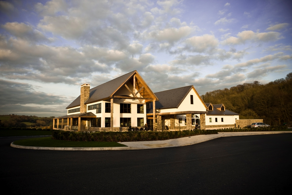 Clubhouse on the Twenty Ten course at Celtic Manor