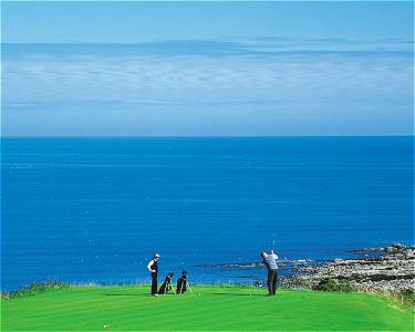 Golfers at Kittocks