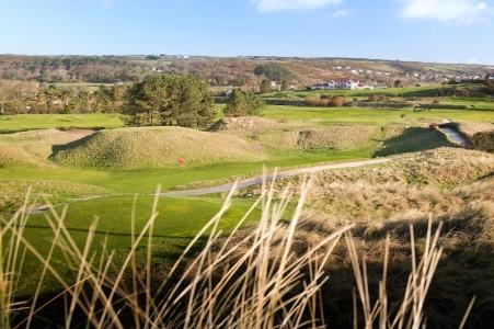 Holes on Ashburnham golf course
