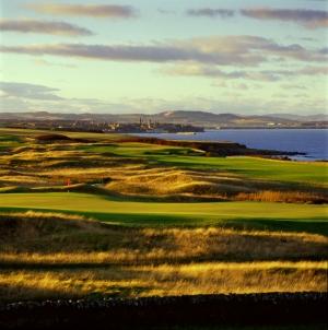 Torrance golf course during the Scottish Senior Open