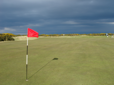 12th and 6th holes on the Old Course at St Andrews