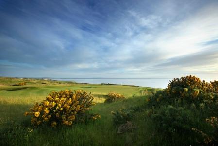 Torrance golf course during the Scottish Senior Open Pro Am