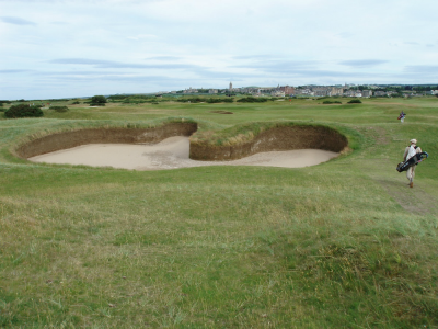Hell Bunker on the Old Course at St Andrews