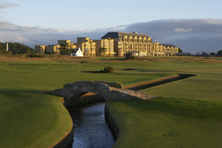 Swilcan bridge on the Old Course at St Andrews