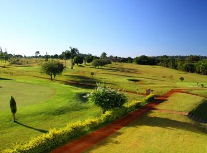 Practice at the Iguassu Golf, part of Wish Resort