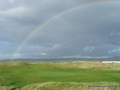 Rainbow at Machrihanish