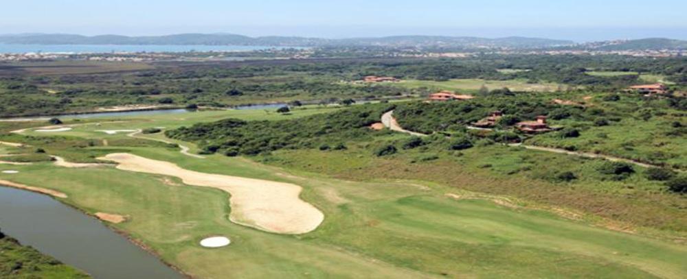 Aerial view of Buzios Golf Club, close to Rio de Janeiro, Brazil