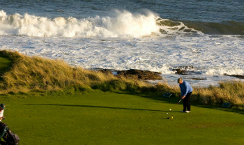 16th tee by the sea at Royal Dornoch