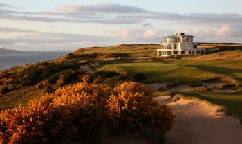 9th Green at Castle Stuart Golf Links