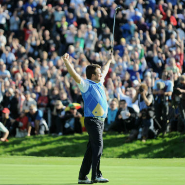 Graham McDowell beim Ryder Cup 2010 in Wales