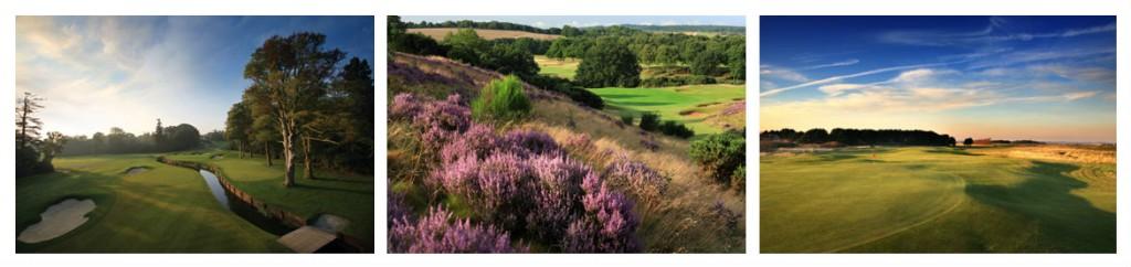 Images de golfs en Angleterre
