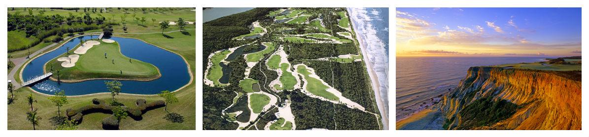 Images des golfs au Brésil