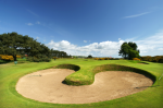 Bunker on the 13th hole at Carnoustie Championship