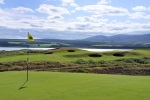 Elevated green at Skibo Castle Golf Course