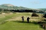 Leven links' golfers