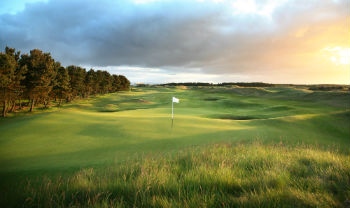 Green at Dundonald Links