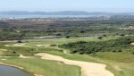 Aerial view of a few holes of the Buzios golf course
