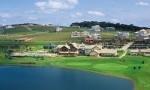 Aerial view of the Alphaville Graciosa golf course