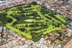 Aerial view of the Porto Alegre golf course
