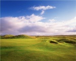 Elevated green of the Old Course at the Ballyliffin Club