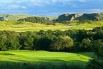 Green sobre el campo de golf de Tenby