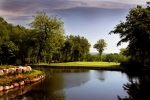 Par 3 on the Wales National course at the Vale resort