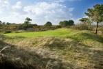 Pequeño green sobre el campo de golf de Ashburnham