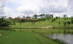 Spectacular Par 3 with water on the Quinta da Baroneza golf course