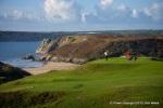 Espectacular vistas del campo de golf de Pennard