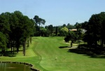 Uphill fairway at the Sao Fernando golf course