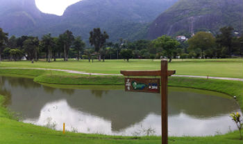 7. Loch auf dem Itanhanga Golf Club in Rio de Janeiro