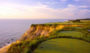 Signature par 3 hole by the Atlantic Ocean at the Terravista Golf Course
