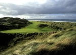 Dog leg left on the Enniscrone golf course