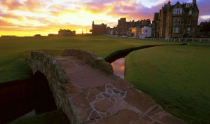 Swilcan Bridge Old Course St Andrews