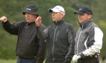 Challenge Tour players at the Scottish Hydro Challenge Pro Am