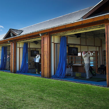 Practice de l'académie de golf de St Andrews
