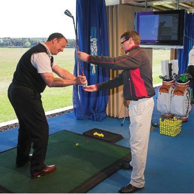 Cours de golf à l'académie de golf de St Andrews