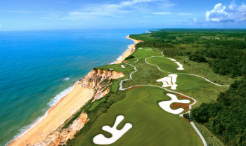 Pro Am on the Terravista golf course in Brazil