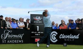 Bary Lane sur le Scottish Senior Open