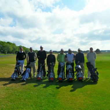 Einer unseren Golfgruppen