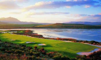 Golf à Cape Town en Afrique du Sud