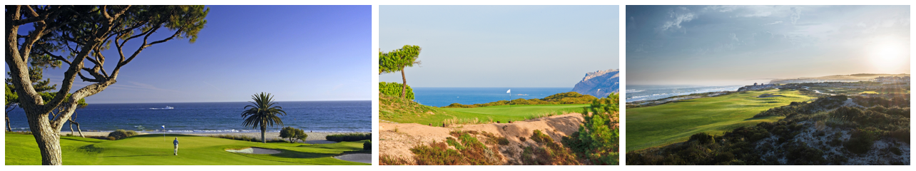 Vale do Lobo, Oitavos Dunes and Praia d'El Rey golf courses