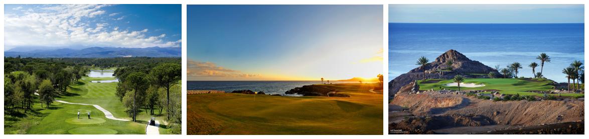 PGA Catalunya, Amarilla und Anfi Tauro Golfplatze