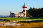 Golf de Harbour Town en Caroline du Sud aux USA